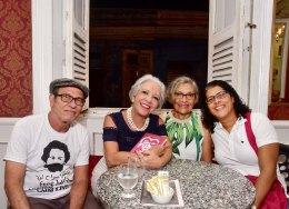 Parceirxs de luta, autora do prefácio, Ana Veloso à dir -BetoOliveira