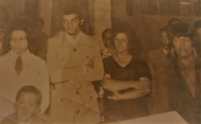 Neném ao lado do primo José Alberto/Zico e da dona Nilza, minha primeira sogra, 1972
