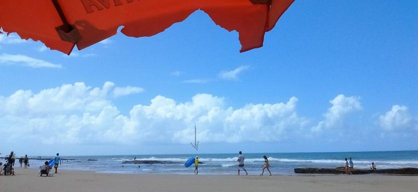 trabalho na praia - SE