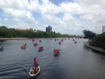 Barqueata no Capibaribe, Recife - Fotos: Ruy Sarinho