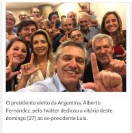 Fernandéz Lula Livre