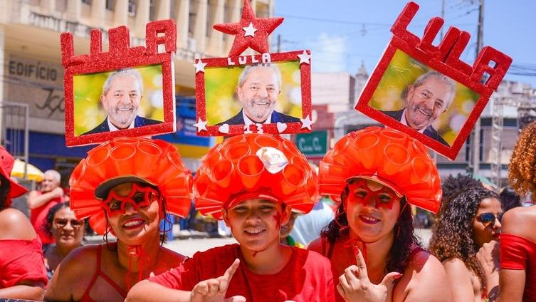 A festa para Lula - Foto: Sérgio Gaspari/JL