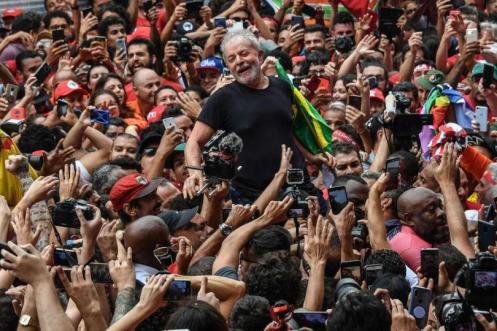 Lula em São Bernardo - Foto: Ricardo Stuckert