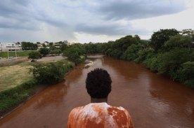 O rio e seu povo em agonia - Foto: MAB