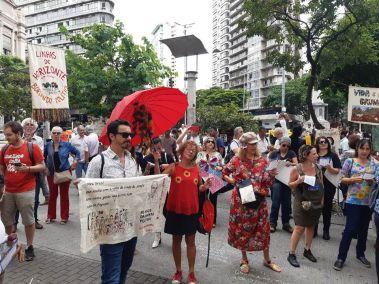 Ato de abertura em BH - Foto: Pedro Alexandrino Martins/FB