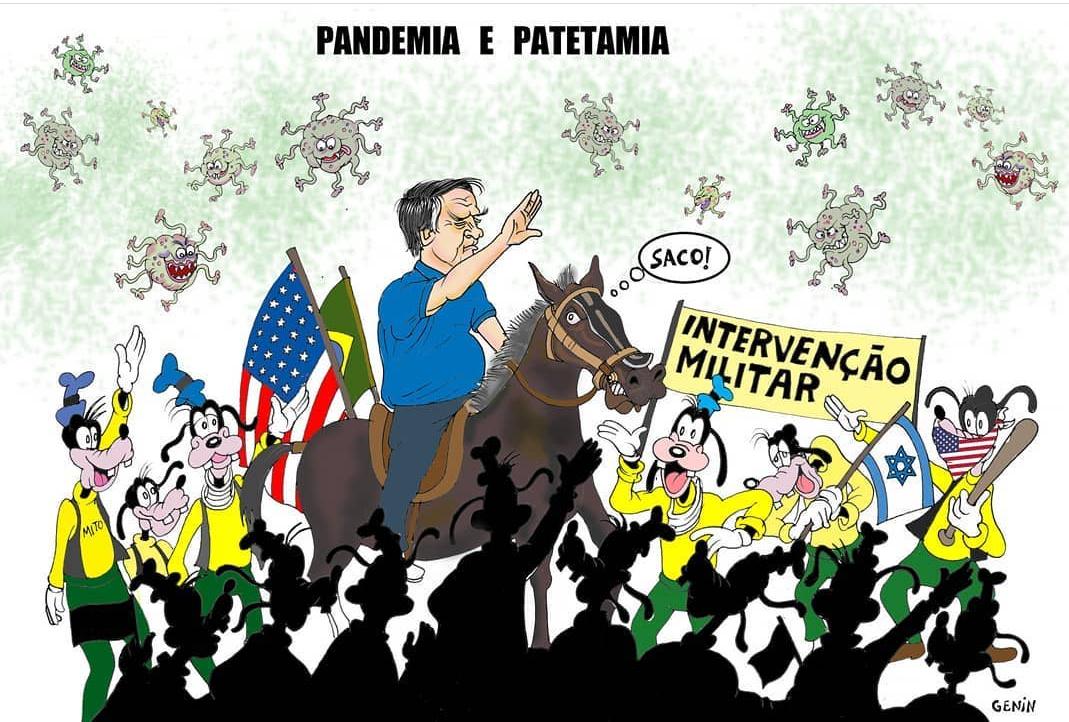 E viva a ação antifascista, Ditadura nunca mais! | A Tal Mineira