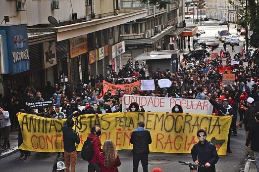 Antifas em Porto Alegre - Foto: Allas Deriva