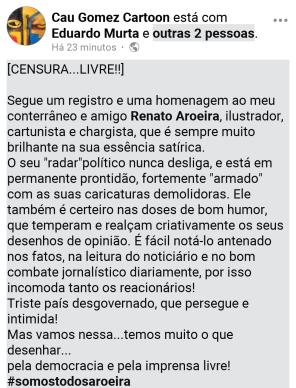 Texto Cauh Gomes