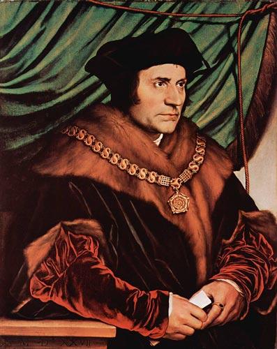 O pensador inglês Thomas More e seu livro Utopia, de 1516