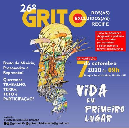 cartaz grito Recife