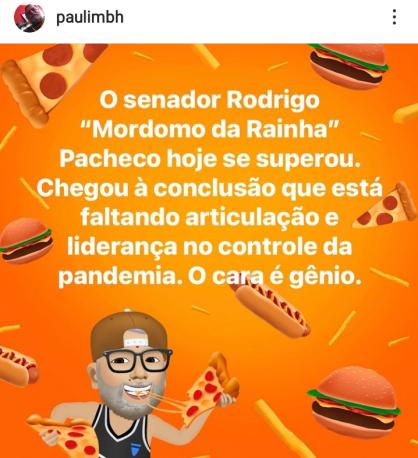 Paulinho - Rodrigo Pacheco