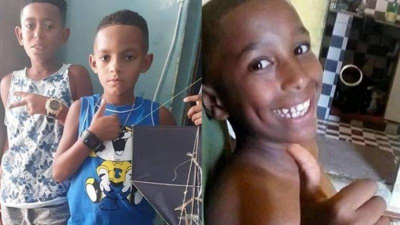 Alexandre, Lucas e Fernando Henrique desapareceram no dia 27 de dezembro