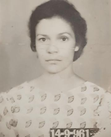 Mamãe em 14.09.1961