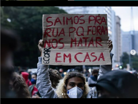 protesto Jacarezinho 2021 - Av Paulista - Mídia Ninja