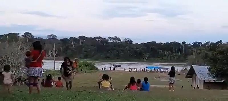 Yanomamais sob ataque - reprodução-divulgação