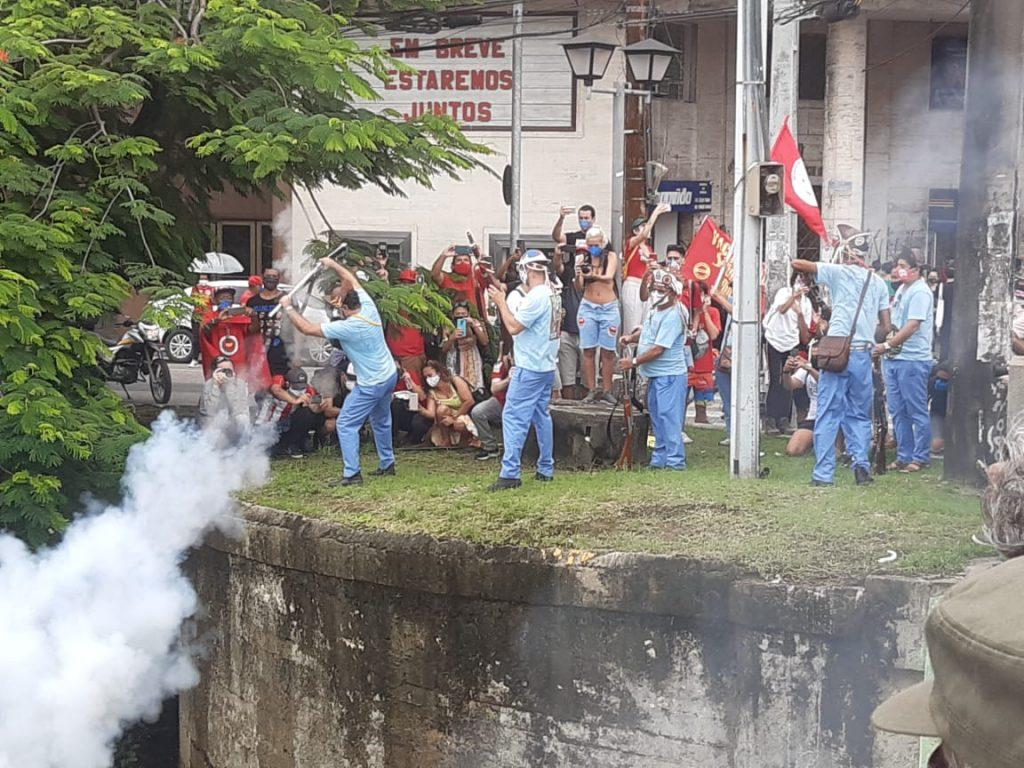 Bacamarteiros no 3J - Laércio Portela -MZ Conteúdo